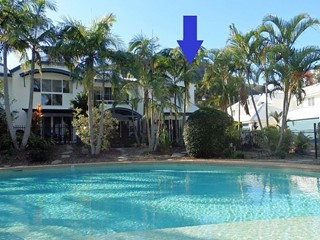 Straight through your private gate to the pool & spa!