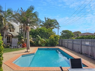 Large townhouse seconds from the beach