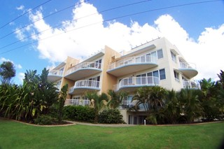 Situated opposite secluded First Bay with amazing ocean views!